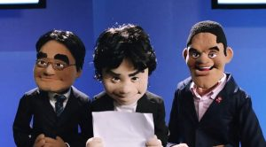 Nintendo execs -- courtesy of Jim Henson's Creature Shop