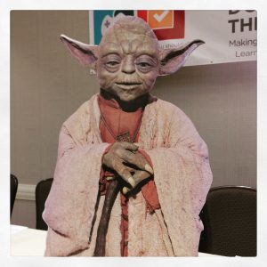 """Do or do not. There is no try."" - conference theme (uttered by Yoda, advisor and mascot)"