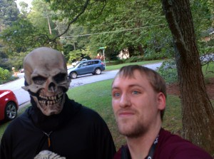 Chilling with the Grim Reaper