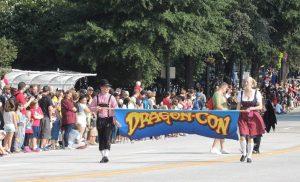 How every Dragon Con parade begins