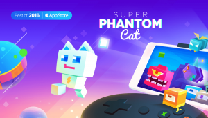 "Super Phantom Cat is considered as one of the ""Best Of 2016"" from the App Store in Mainland China!"