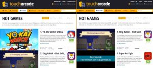 Super Arc Light made TouchArcade's Hot Games List!