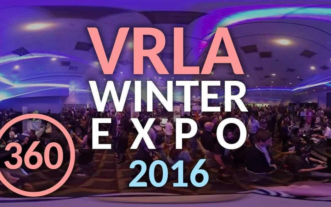 VRLA Winter Expo 2016: Diving into the Unknown
