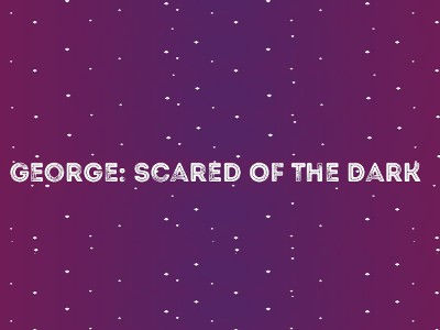 George: Scared of the Dark (logo)