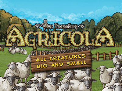 Agricola All Creatures Big and Small Logo
