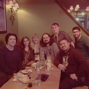 The annual Novy GDC Team Dinner!