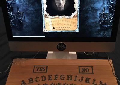 Black Widow - screen and board
