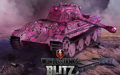 World of Tanks Blitz: Think Pink!
