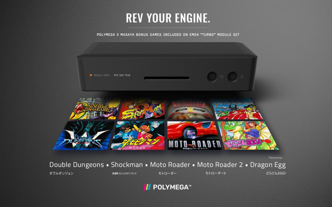 Polymega: Spotlight on TG-16
