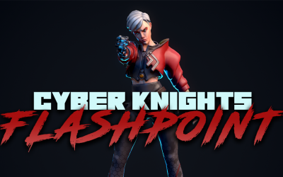 Cyber Knights: Flashpoint – Kickstarter Goal Exceeded!