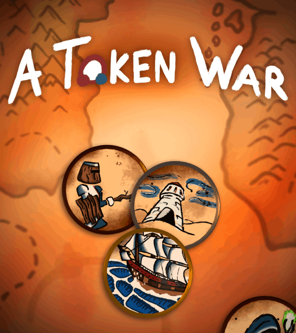 A Token War: Deck-building, turn-based strategy game launches on Steam!